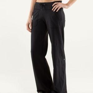 Lululemon Still Grounded Pants Size 4 Tall Black